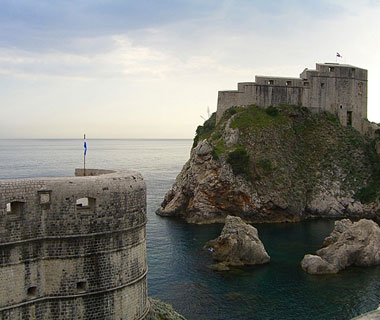 beautiful castles: Dubrovnik, Croatia