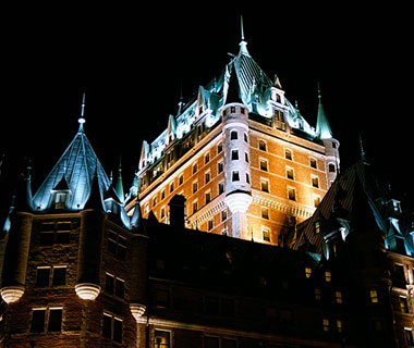 beautiful castles: Le Chateau Frontenac, Quebec City