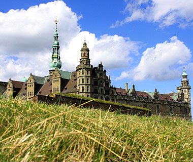 beautiful castles: Kronborg, Denmark