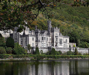 beautiful castles: Kylemore Abbey, County Galway, Ireland