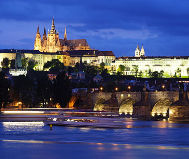 beautiful castles: Prague, Czech Republic