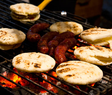 world's most delicious street food: Bogota