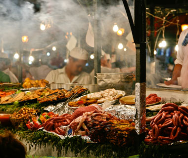 world's most delicious street food: Marrakesh