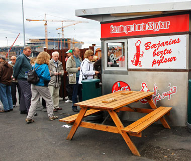 world's most delicious street food: Reykjavik