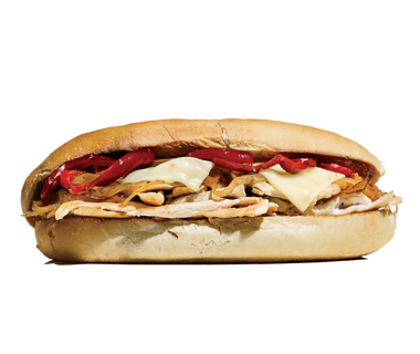 best sandwiches: Chicken Philly Cheesesteak, Philadelphia