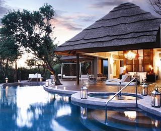 Best Hotel Hot Tubs: The Molori Safari Lodge, South Africa's North West Province
