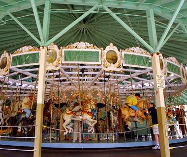 America's best carousels: Crescent Park