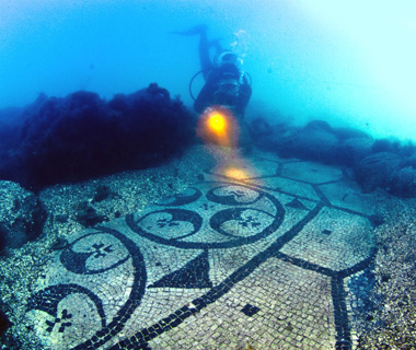 Underwater Attractions: Parco Archaeologico Sommerso di Baia, Pozzuoli, Italy