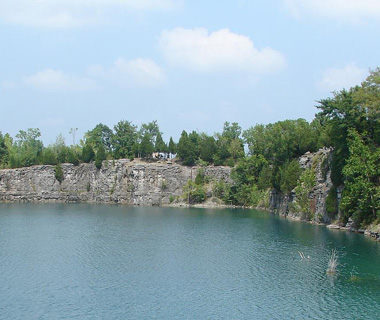 Underwater Attractions: Martha's Quarry, Lebanon, TN
