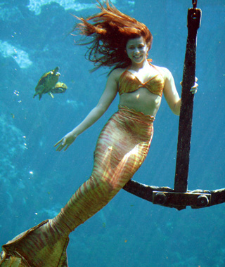 Underwater Attractions: Weeki Wachee Mermaid Show, Spring Hill, FL