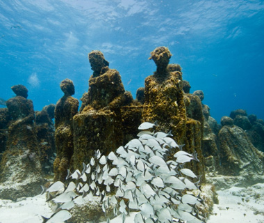 Underwater Attractions: Museo Subacuático de Arte, Cancún, Mexico