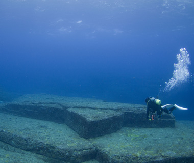 Underwater Attractions: Yonaguni Monument, Okinawa, Japan