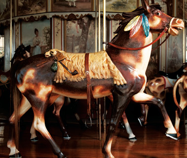 Kit Carson Carousel, Burlington, CO
