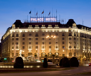 best hotels in Spain: Westin Palace, Madrid