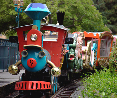 Disney's best original rides: Casey Jr. Circus Train (Disneyland)