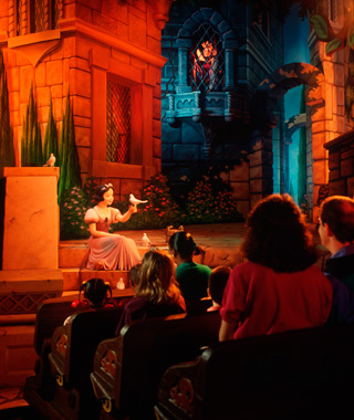 Disney's best original rides: Snow White's Scary Adventures (Disneyland)