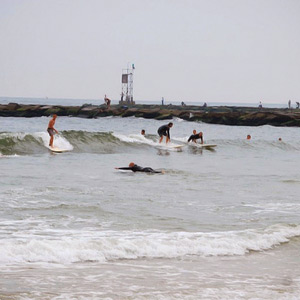Surfing Delaware's Shore