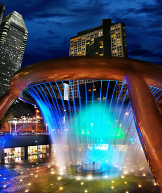 world's most amazing fountains: The Fountain of Wealth at Suntec City, Singapore