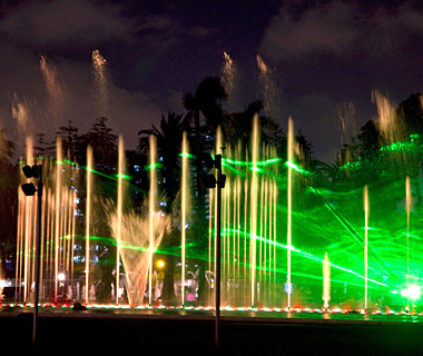 world's most amazing fountains: The Magic Circuit of Water, Lima, Peru