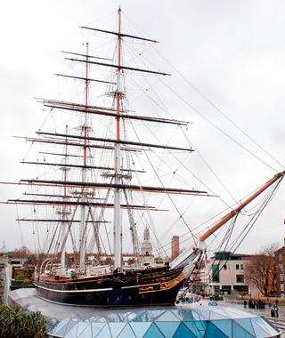 London's coolest new attractions: the Cutty Sark