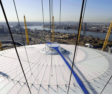 London's coolest new attractions: Up at the O2