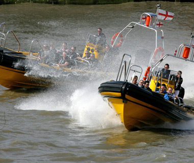 London's coolest new attractions: Thames RIB Experience