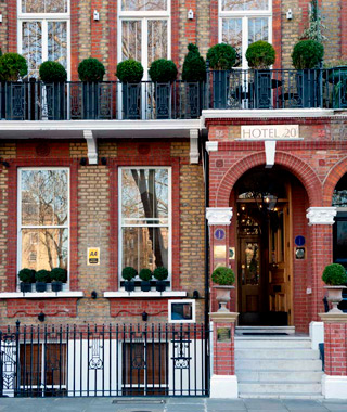 London's secret small hotels: 20 Nevern Square