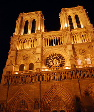 Europe's most-visited tourist attractions: Notre Dame Cathedral