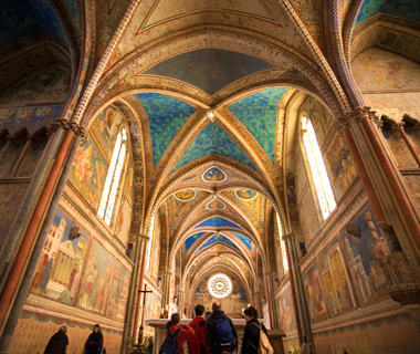 Europe's most-visited tourist attractions: Basilica of St. Francis of Assisi