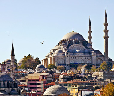 Europe's most-visited tourist attractions: Sultanahmet Camii (Blue Mosque)