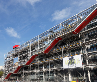 Europe's most-visited tourist attractions: Centre Pompidou