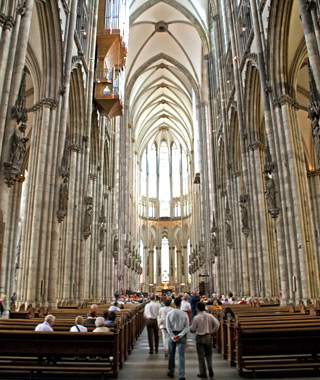 Europe's most-visited attractions: Cologne Cathedral
