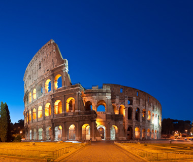 Europe's most-visited ancient tourist attractions: Rome colosseum