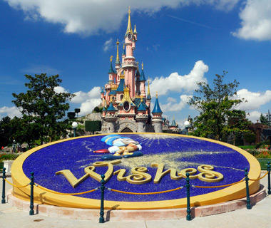 Europe's most-visited tourist attractions: Disneyland Park, France