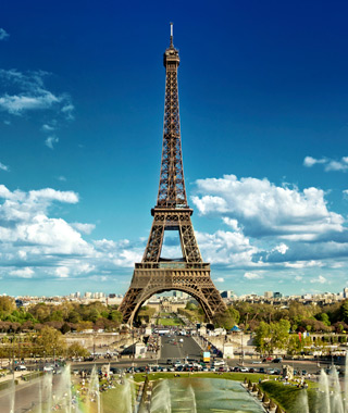 Europe's most-visited tourist attractions: Eiffel Tower