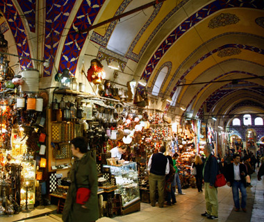 Europe's most-visited tourist attractions: Grand Bazaar