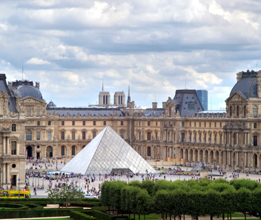 Europe's most-visited tourist attractions: Musee du Louvre
