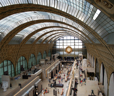 Europe's most-visited tourist attractions: Musee d'Orsay