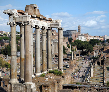 Europe's most-visited tourist attractions: Roman Forum