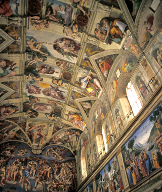 Europe's most-visited tourist attractions: Sistine Chapel