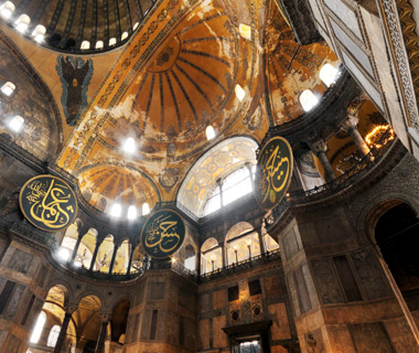 Europe's most-visited tourist attractions: Hagia Sophia