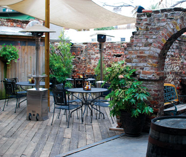 America's best outdoor bars: Blind Tiger, Charleston