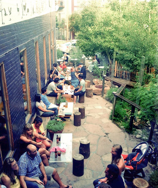 America's Best Outdoor Bars: Forest Room 5