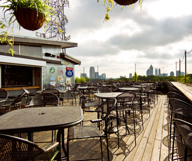 America's best outdoor bars: Six Feet Under Rooftop