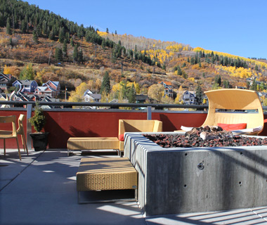 America's Best Outdoor Bars: Sky Blue at The Sky Lodge