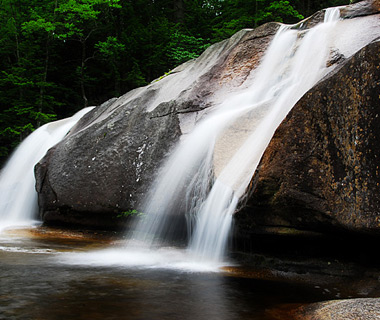 beautiful waterfalls: Diana's Bath, White Mountains, NH