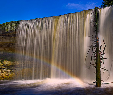 beautiful waterfalls: Jagala Falls, Tallinn, Estonia