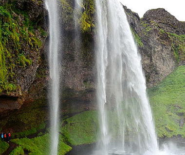 beautiful waterfalls: Seljalandsfoss, Iceland