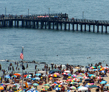 America's Most Crowded Beaches: Coney Island