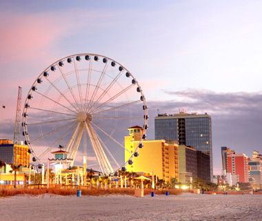 America's Most Crowded Beaches: North Myrtle